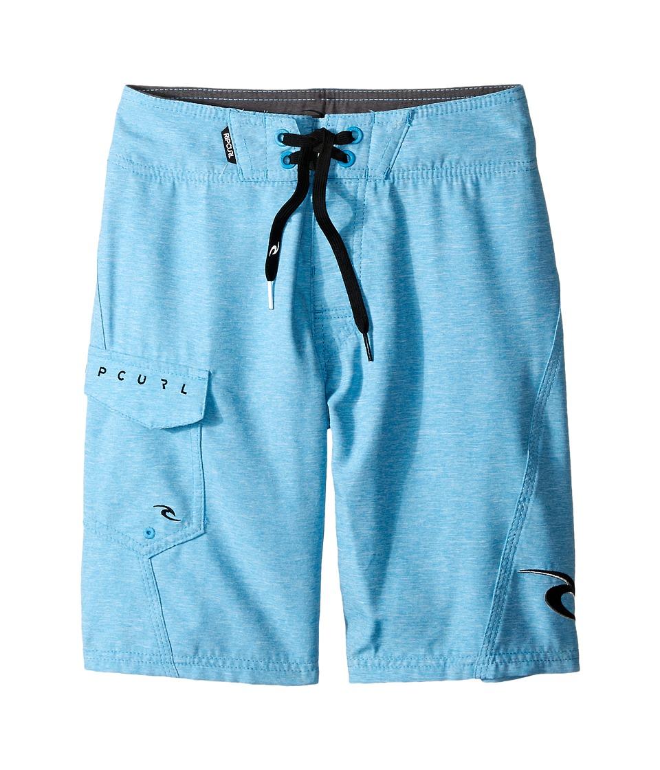 Rip Curl Kids - Dawn Patrol Boardshorts (Big Kids) (Blue) Boy's Swimwear