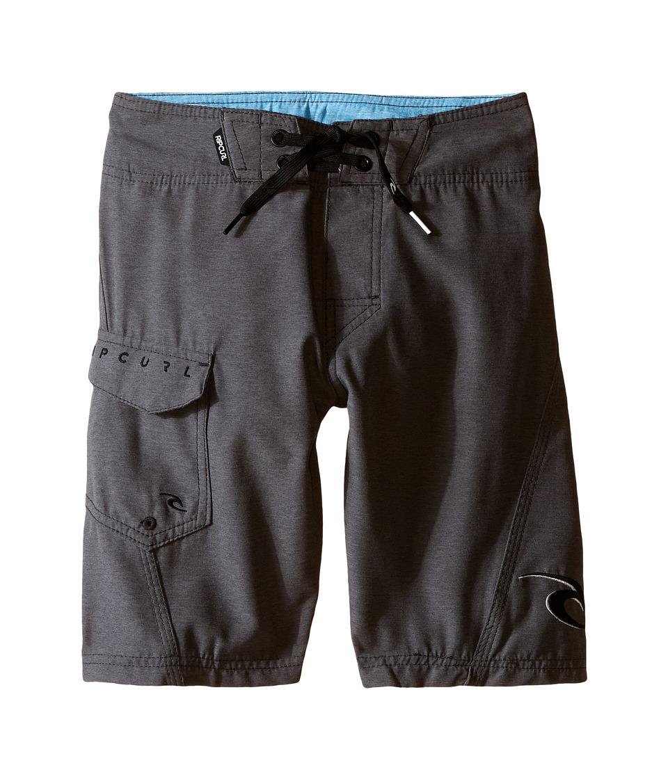 Rip Curl Kids - Dawn Patrol Boardshorts (Big Kids) (Charcoal) Boy's Swimwear