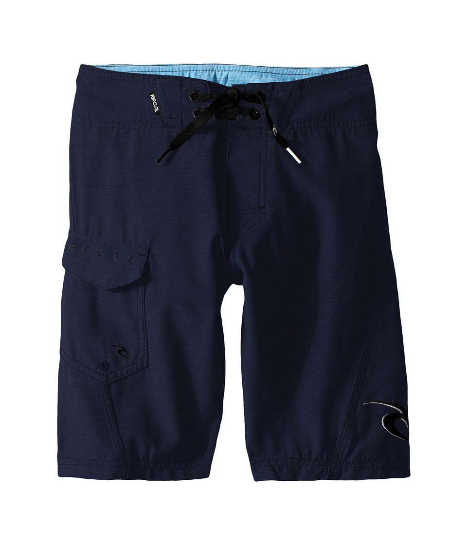 Rip Curl Kids - Dawn Patrol Boardshorts (Big Kids) (Navy) Boy's Swimwear