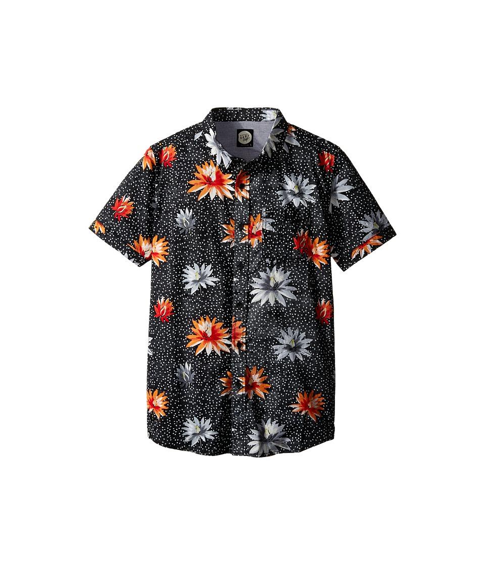 Rip Curl Kids - Glory Short Sleeve Shirt (Big Kids) (Black) Boy's Clothing