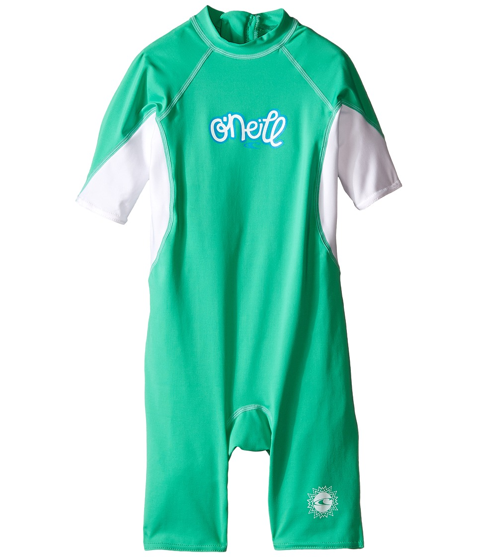 O'Neill Kids - O'zone (Infant/Toddler/Little Kids) (Seaglass/White/Sky) Girl's Wetsuits One Piece