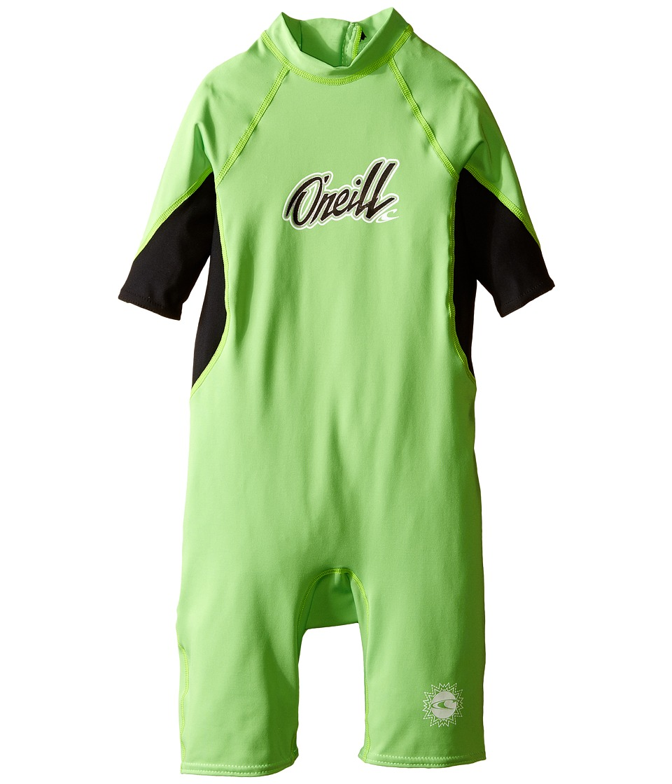 O'Neill Kids - O'zone (Infant/Toddler/Little Kids) (Day Glow/Black/White) Boy's Swimsuits One Piece