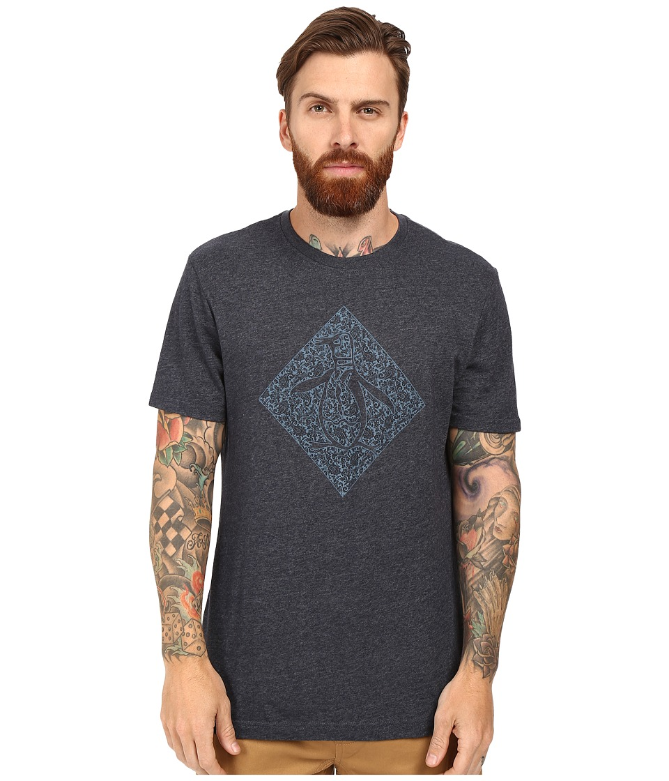 Original Penguin - Paisley Pete (Dark Sapphire) Men's Short Sleeve Pullover