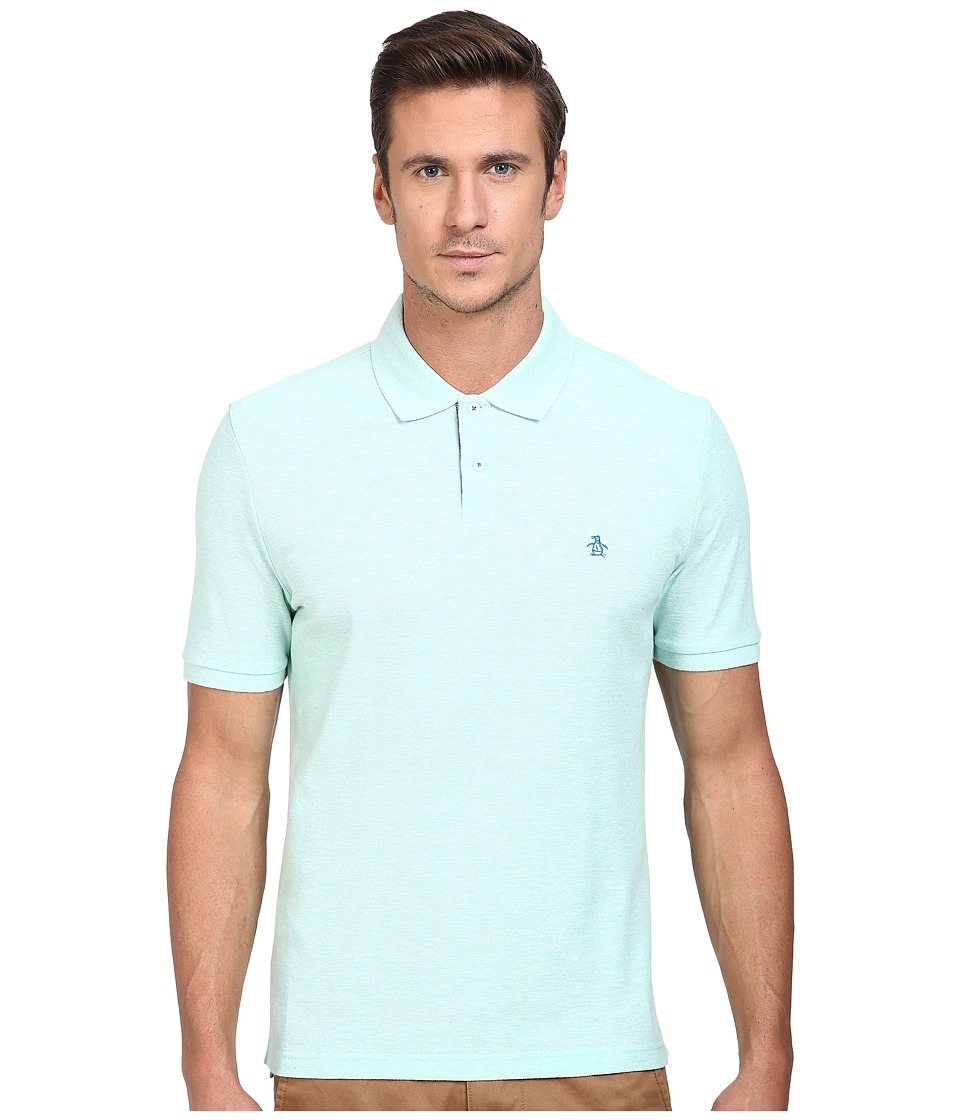 Original Penguin - Daddy Polo (Blue Tint) Men's Short Sleeve Pullover