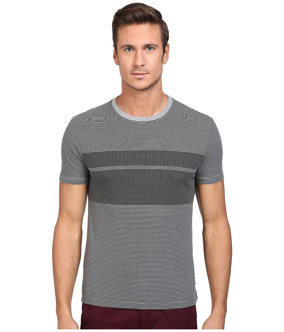 Original Penguin - Short Sleeve Overprinted Feeder Stripe Tee (Griffin) Men's T Shirt
