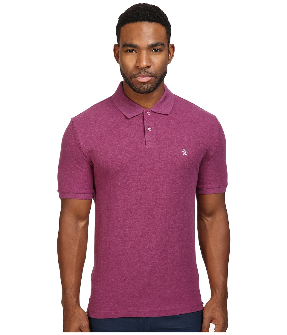 Original Penguin - Daddy Polo (Amaranth) Men's Short Sleeve Pullover