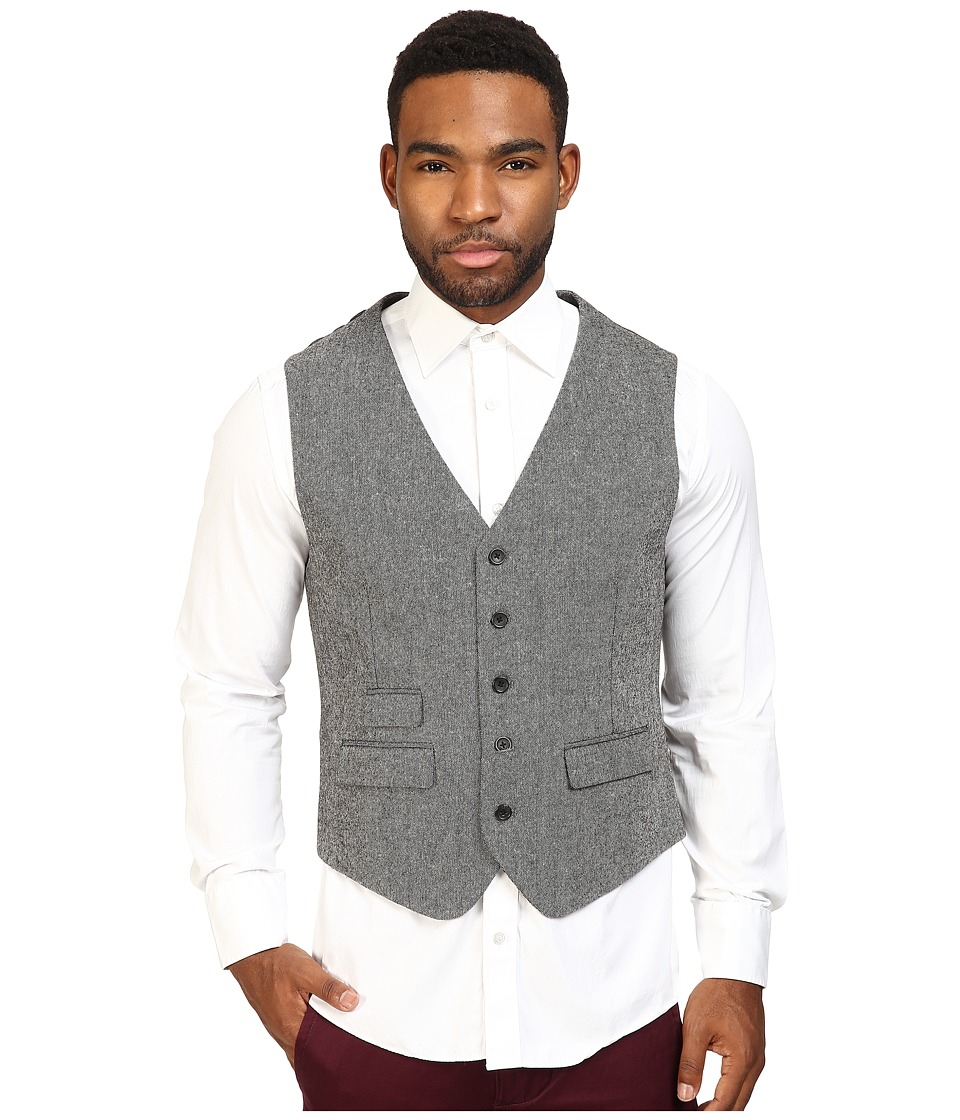 Original Penguin - Tweed Vest (Dark Shadow) Men's Vest