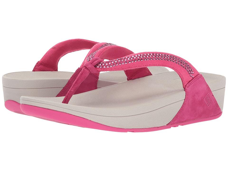 FitFlop - Crystal Swirl (Bubblegum) Women's Sandals