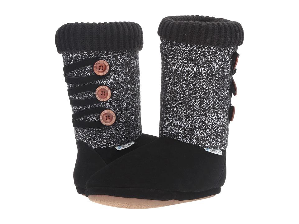 Foamtreads - Andrea (Black) Women's Slippers