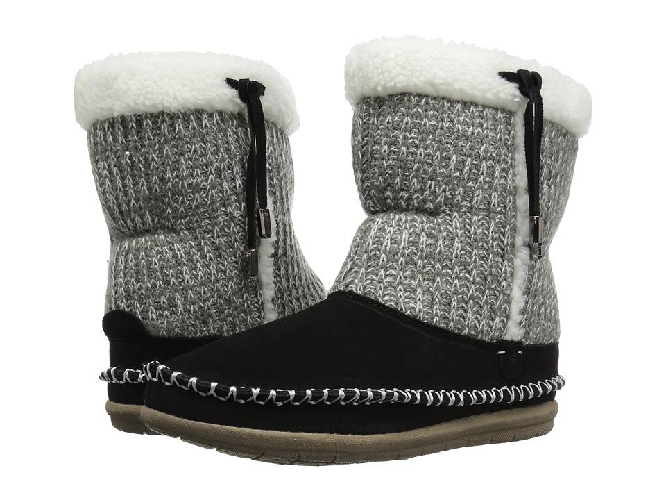 Foamtreads - Alana (Black) Women's Slippers