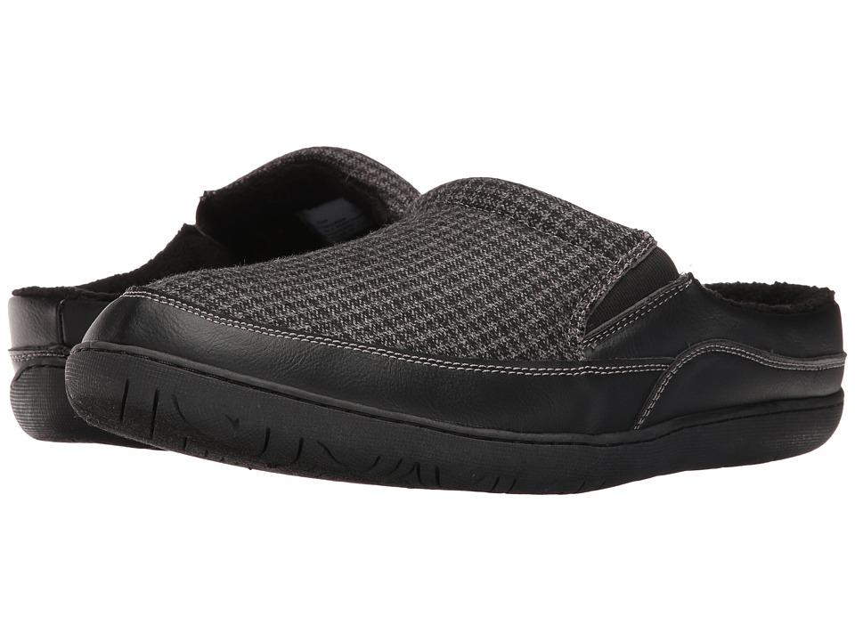 Foamtreads - Sheldon (Black) Men's Slippers