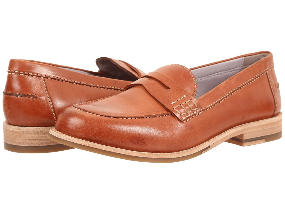 Johnston & Murphy - Gwynn (Orange Italian Kid Suede) Women's Shoes