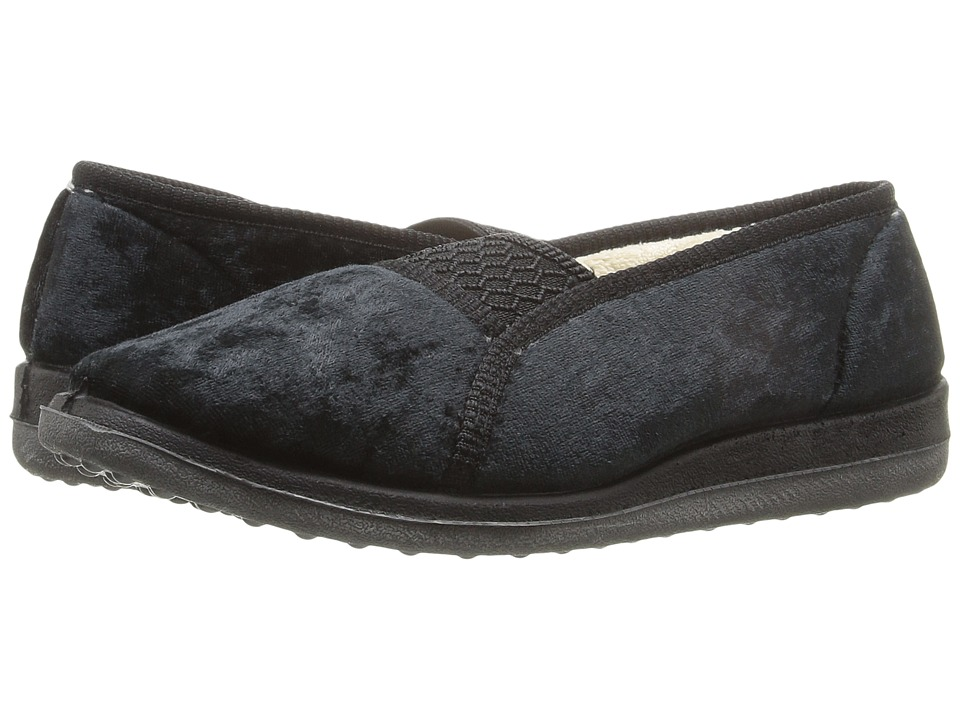 Foamtreads - Quartz (Black) Women's Slippers