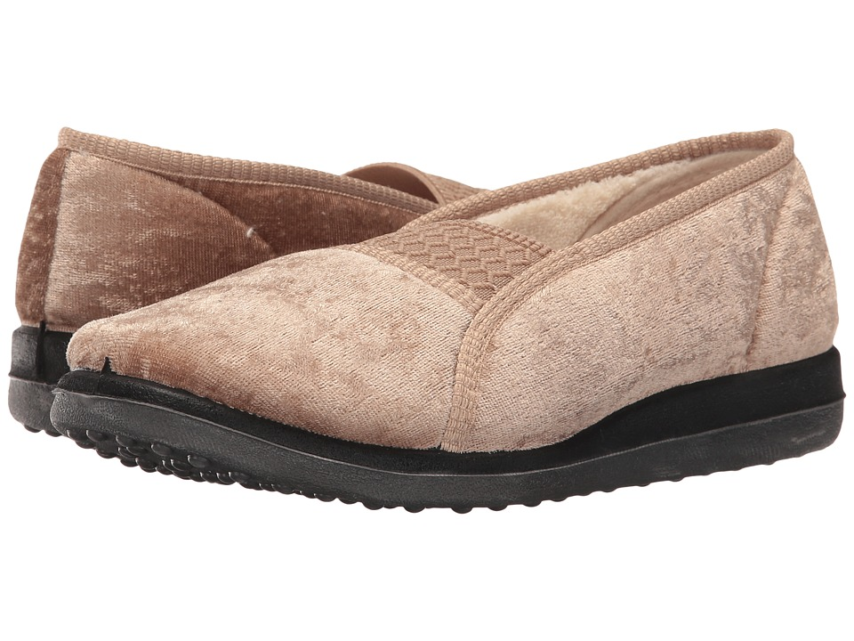 Foamtreads - Quartz (Champagne) Women's Slippers