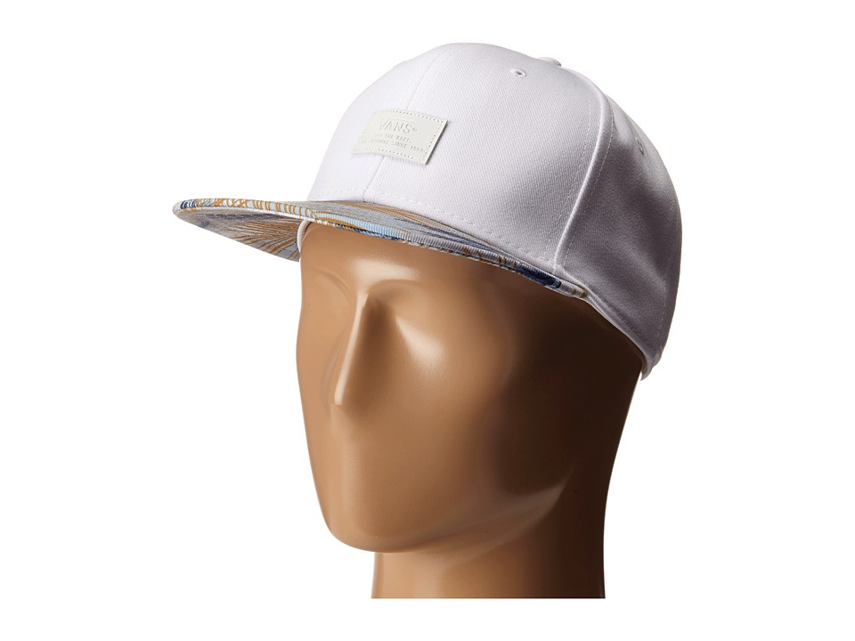 Vans - Allover It (White Acid Palm) Caps