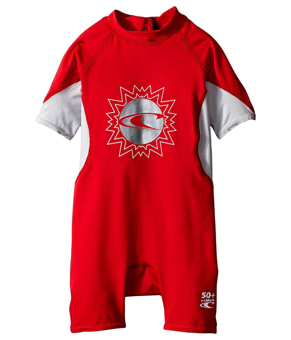 O'Neill Kids - O'Zone Spring (Infant/Toddler/Little Kids) (Red/Lunar/White) Boy's Wetsuits One Piece