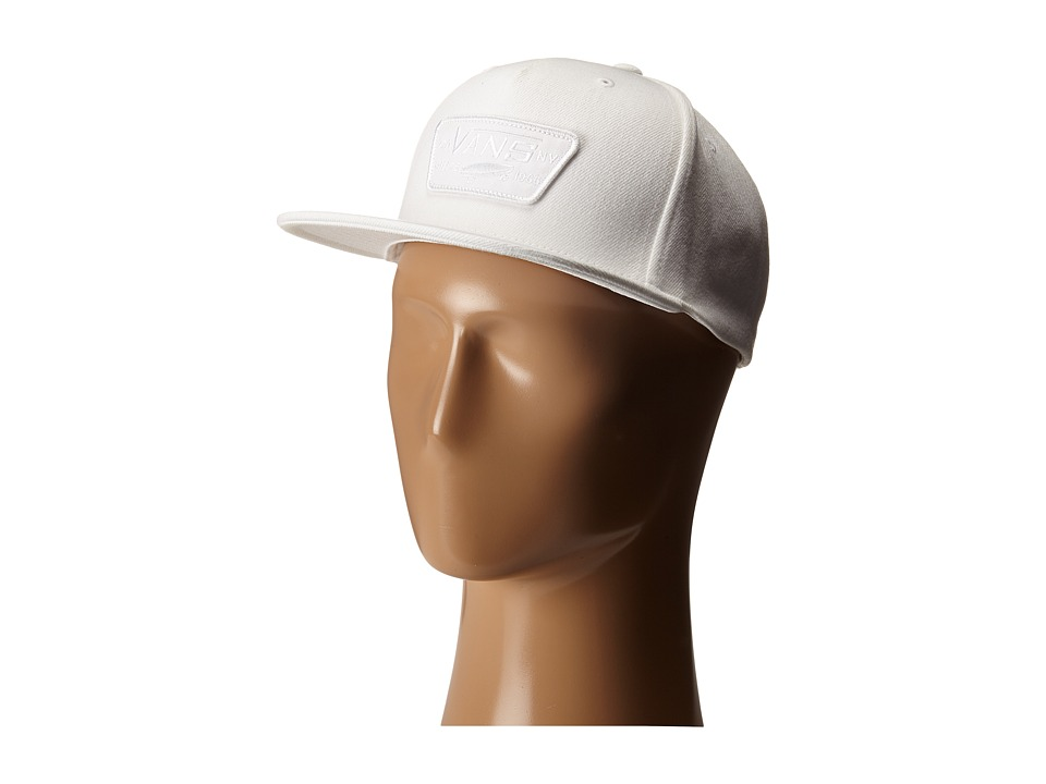Vans - Full Patch Snapback (White) Caps