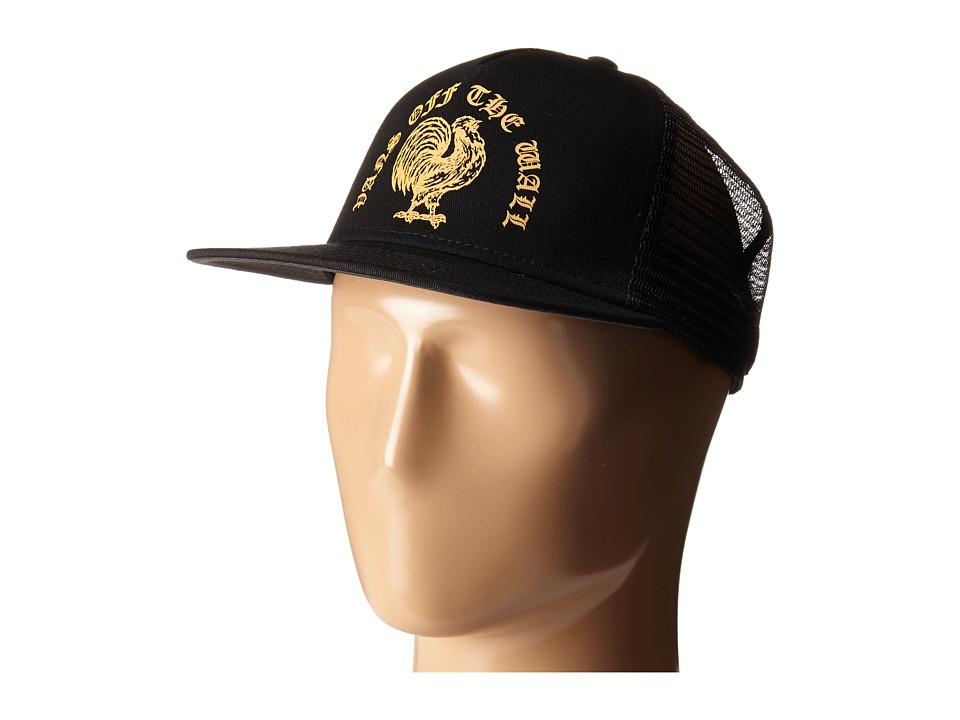 Vans - Crest Trucker (Black) Caps
