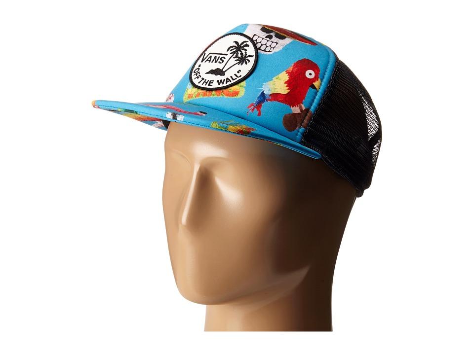 Vans - Surf Patch Trucker Hat (El Guapo) Caps