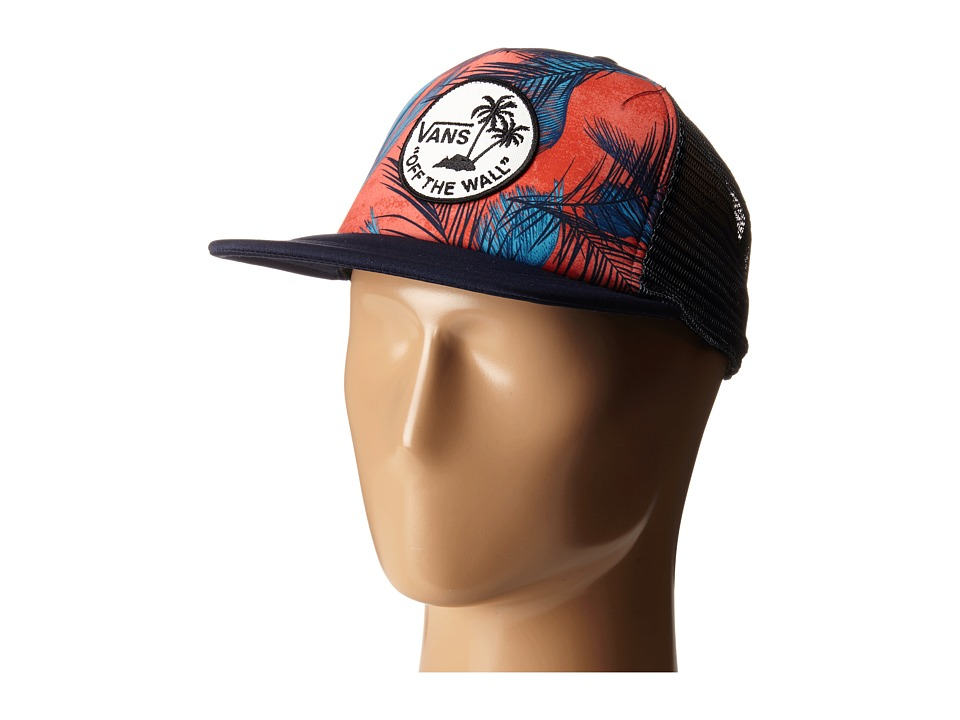 Vans - Surf Patch Trucker Hat (Nasturtium Acid Palm) Caps