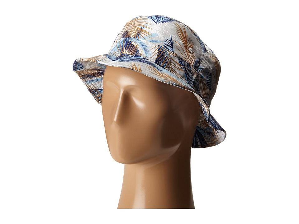 Vans - Undertone Bucket Hat (White Acid Palm) Bucket Caps