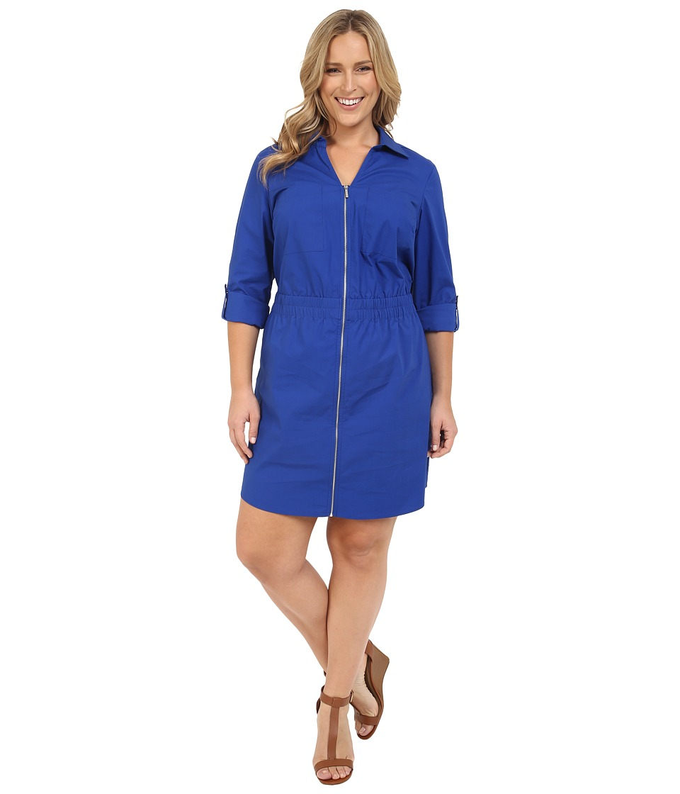 MICHAEL Michael Kors Plus Size Zip Dring Dress
