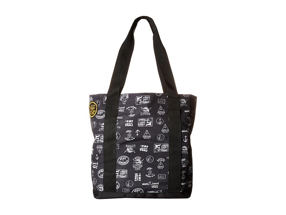 Vans - Carmel Cooler Tote (Captain Fin) Tote Handbags