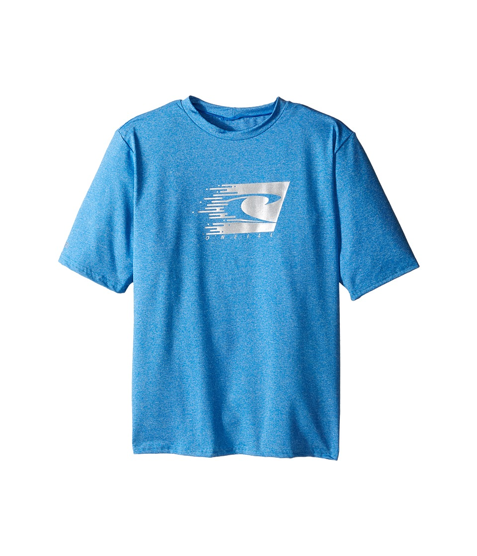 O'Neill Kids - 24-7 Hybrid Short Sleeve Tee (Little Kids/Big Kids) (Brite Blue) Boy's Swimwear