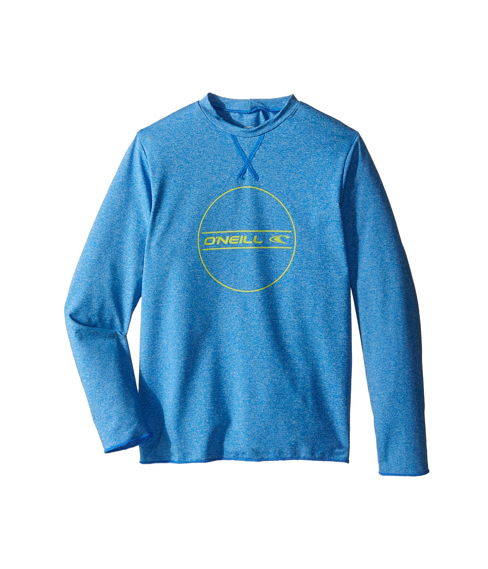 O'Neill Kids - 24-7 Hybrid Long Sleeve Tee (Little Kids/Big Kids) (Brite Blue) Boy's Swimwear