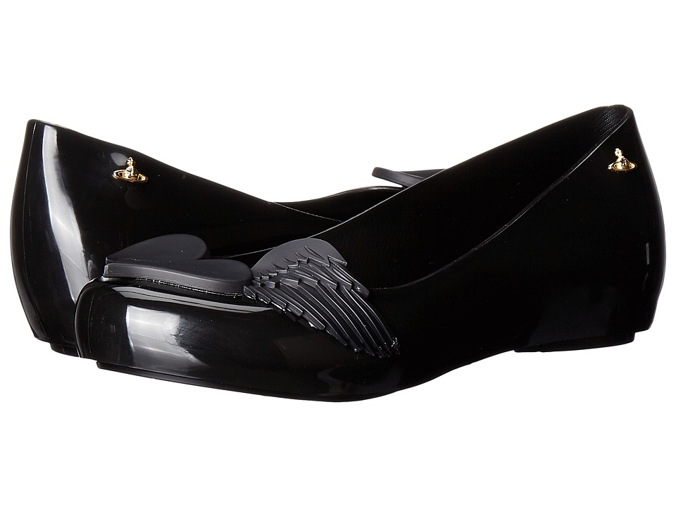 Vivienne Westwood Anglomania + Melissa Ultra Girl (Black) Women