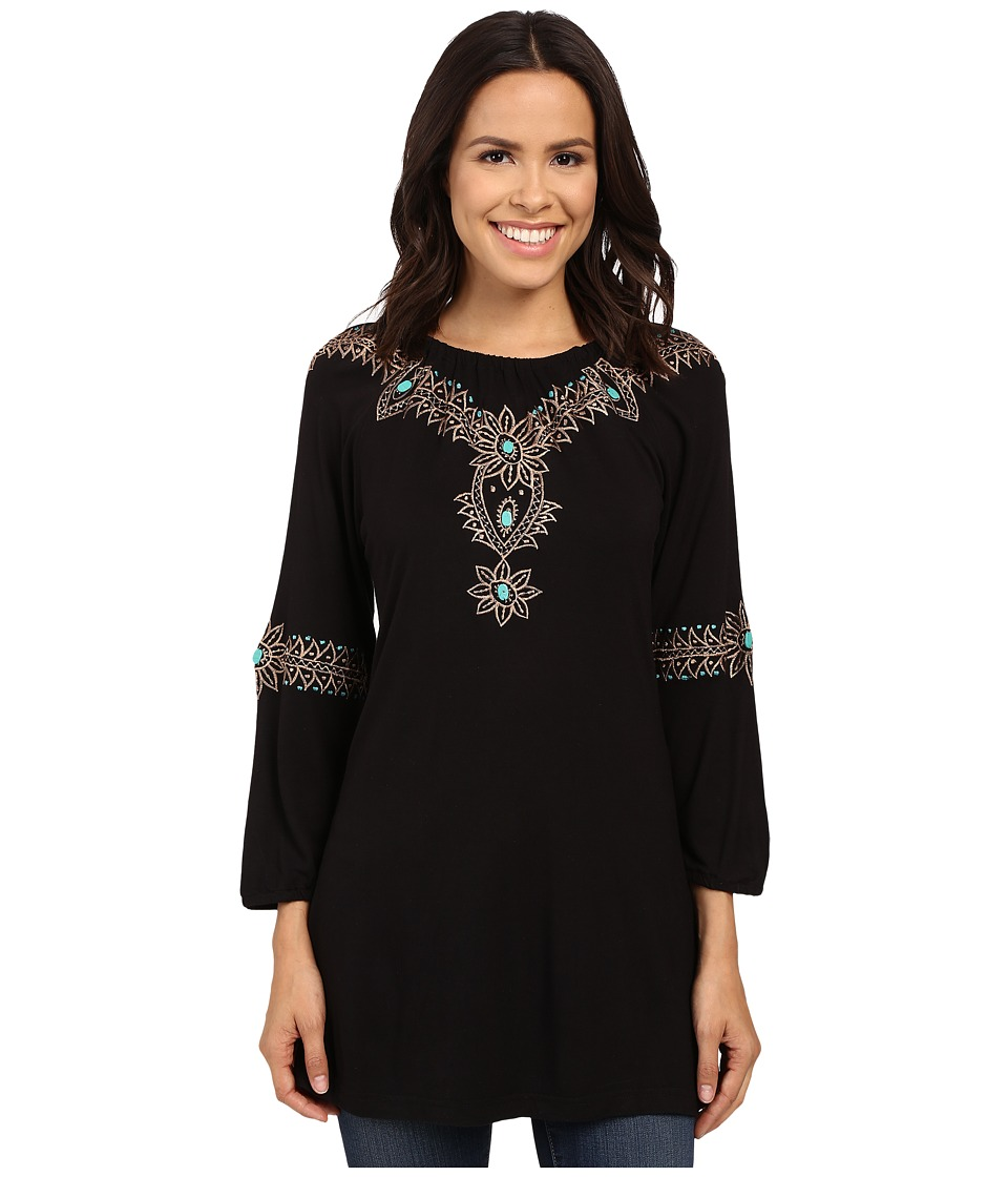 Scully - Western Goddess (Black) Women's Blouse