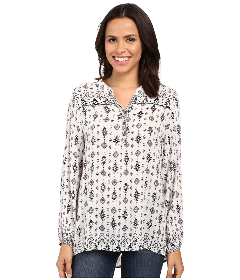 Scully - Marjie Tunic (White) Women's Blouse
