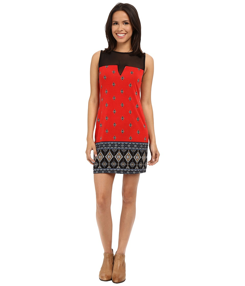 Scully - Lana Dress (Red) Women's Dress