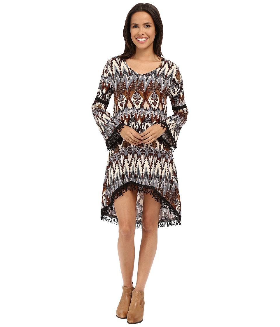 Scully - Brianna Dress (Brown) Women's Dress