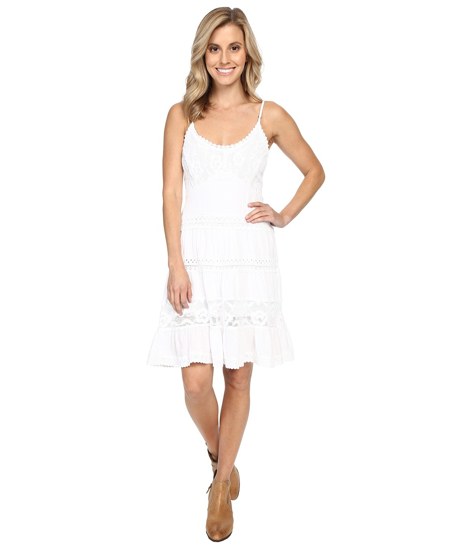 Scully - Summer Wow Them Party Dress (White) Women's Dress
