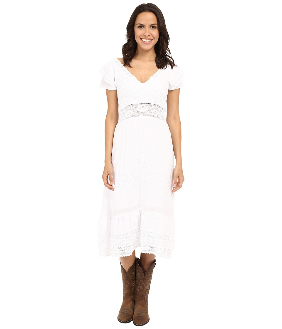 Scully - Kay Summer Dress (White) Women's Dress