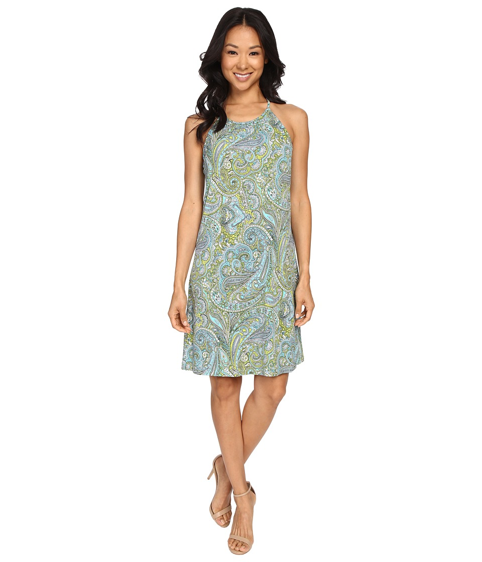 MICHAEL Michael Kors - Ashbury Halter Dress (Turquoise) Women's Dress