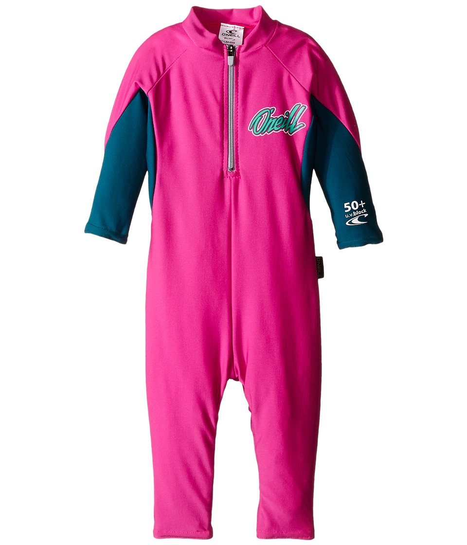 O'Neill Kids - O'Zone Full (Infant) (Berry/Deep Teal/Seaglass) Boy's Wetsuits One Piece