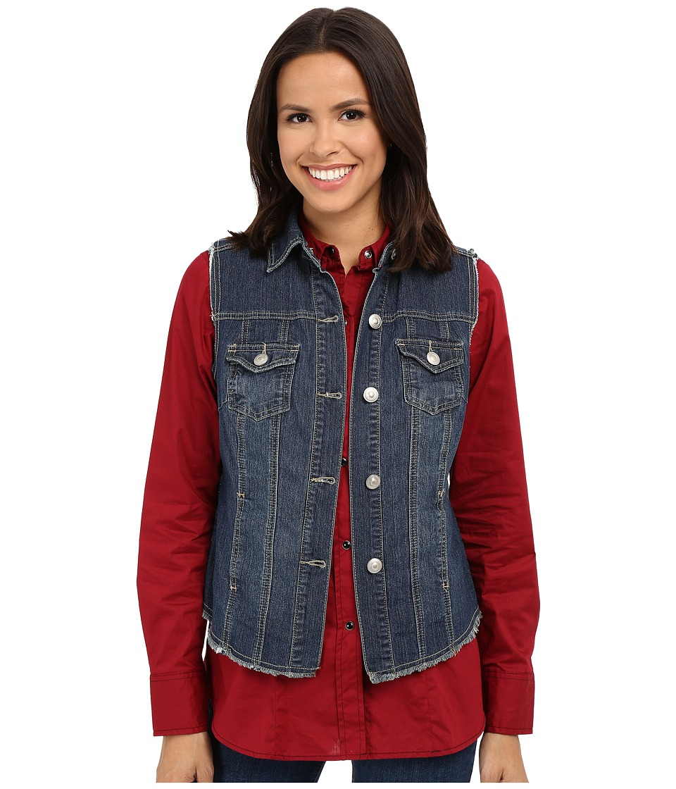 Scully - Krista Denim Vest (Denim) Women's Vest