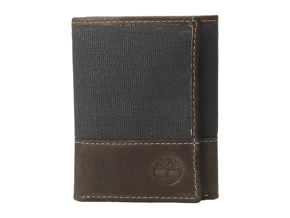Timberland - Baseline Canvas Trifold (Dark Sapphire) Wallet Handbags