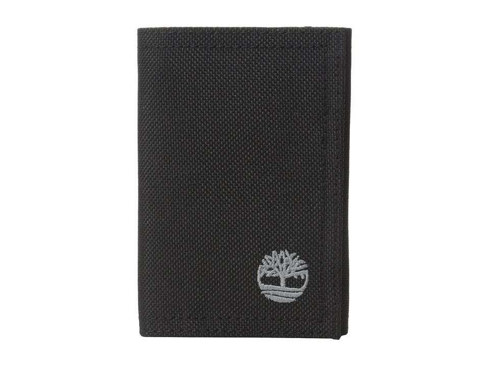 Timberland - Nylon Trifold (Black) Wallet Handbags