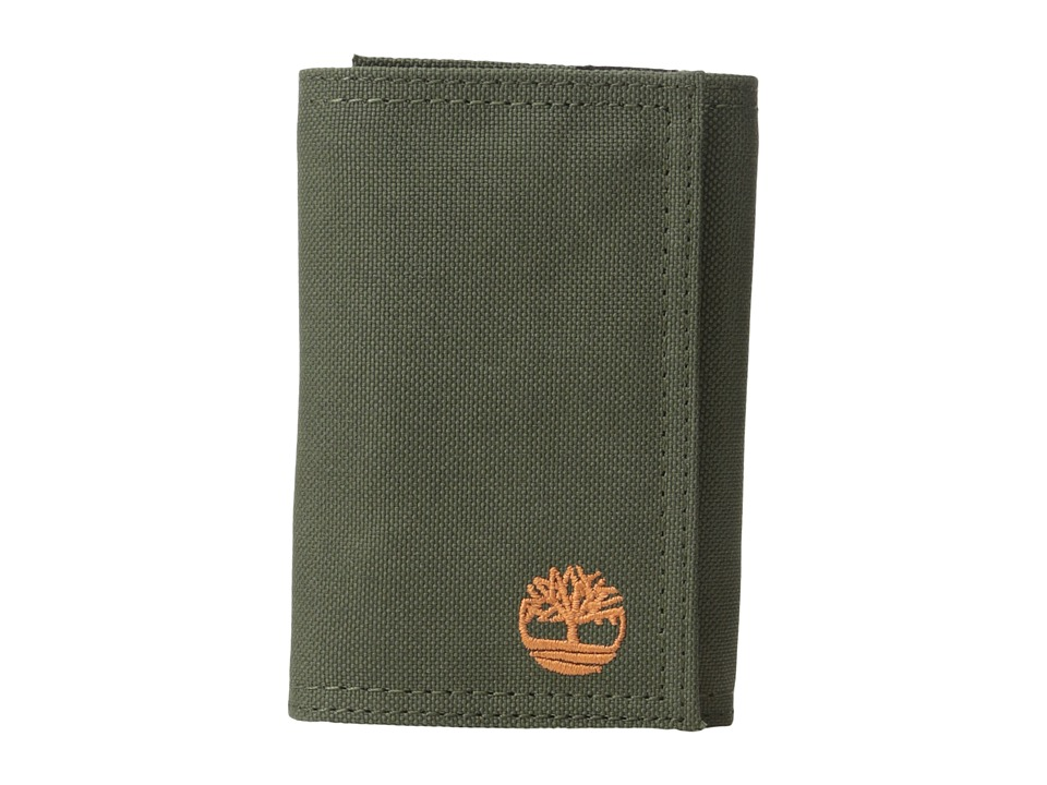 Timberland - Nylon Trifold (Olive) Wallet Handbags