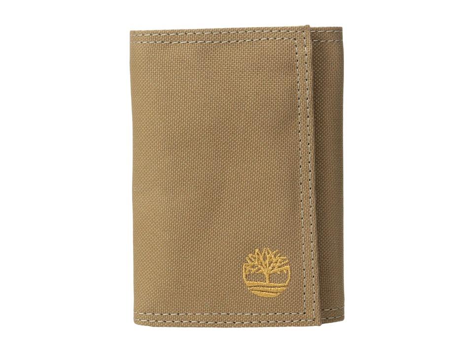 Timberland - Nylon Trifold (Khaki) Wallet Handbags