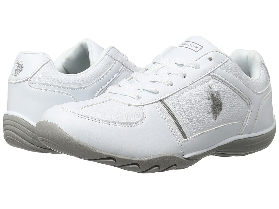 U.S. POLO ASSN. - Thrill (White/Grey) Women's Shoes