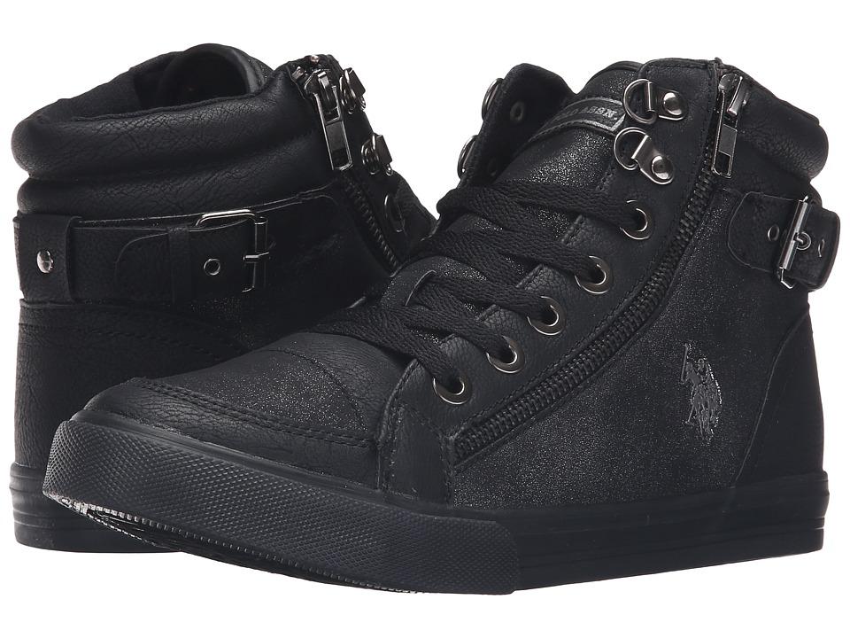 U.S. POLO ASSN. - Cady (Black/Gunmetal) Women's Shoes