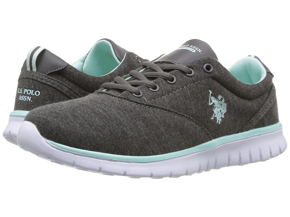 U.S. POLO ASSN. - Maxine9 (Dark Grey/Mint) Women's Shoes