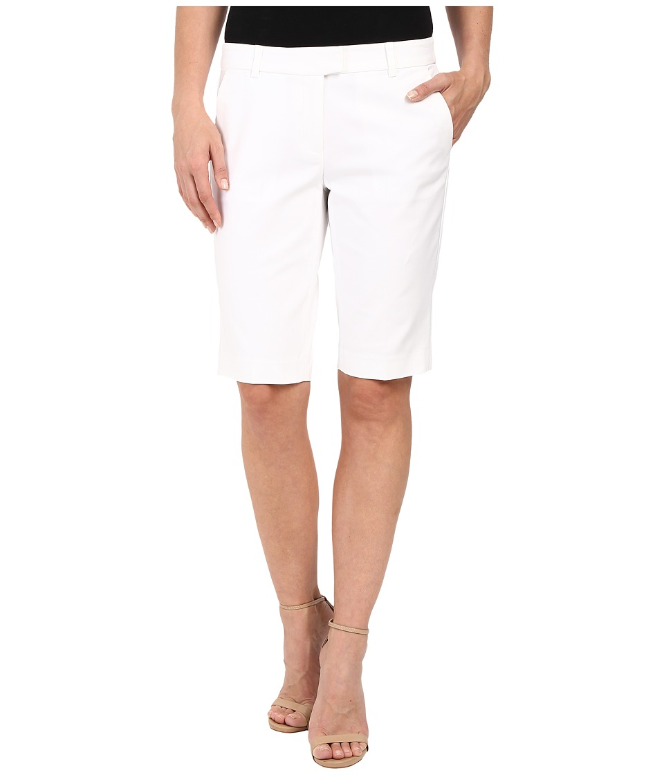 MICHAEL Michael Kors - Slim Bermuda (White) Women's Shorts