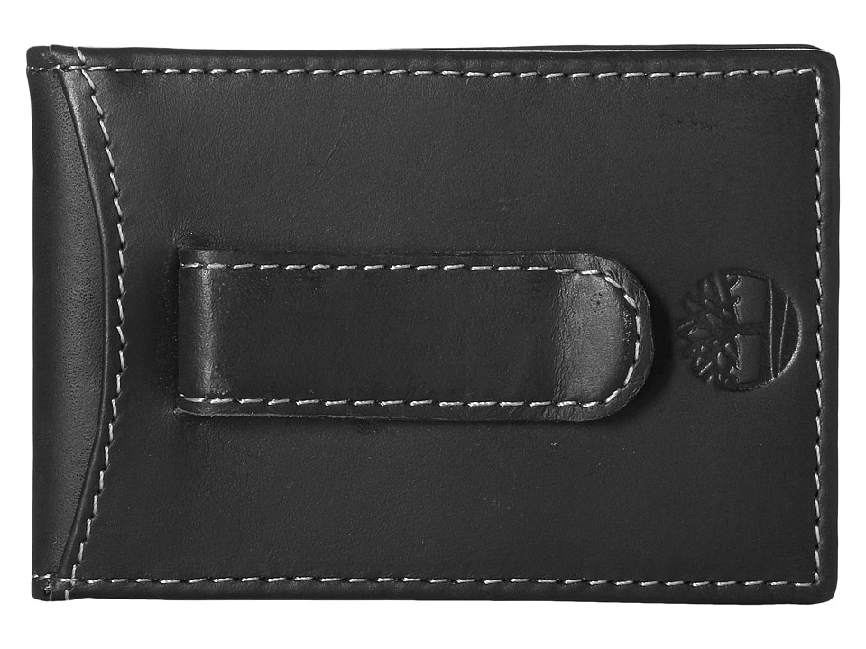 Timberland - Hunter Flip Clip (Black) Wallet Handbags