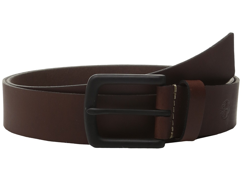 Timberland - 38mm Pull Up Belt (Brown) Men's Belts