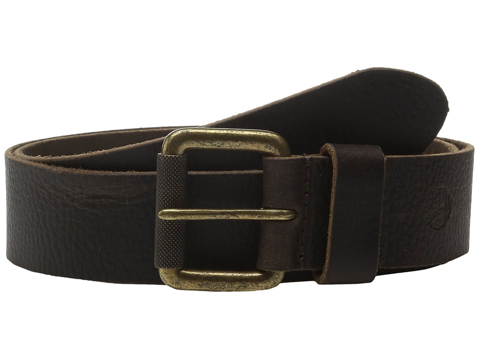 Timberland - 40mm Milled Pull Up Belt (Dark Brown) Men's Belts